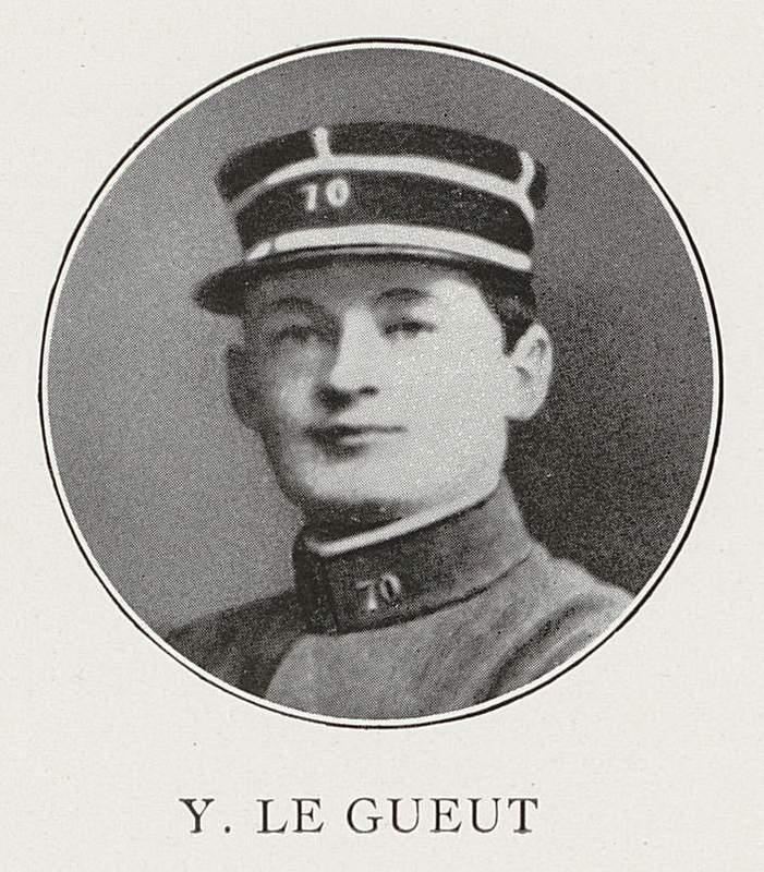 Yves Le Gueut (7 avril 1894-8 septembre 1915)