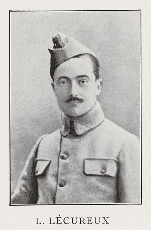 Lucien Lécureux (9 août 1880-4 juin 1918)