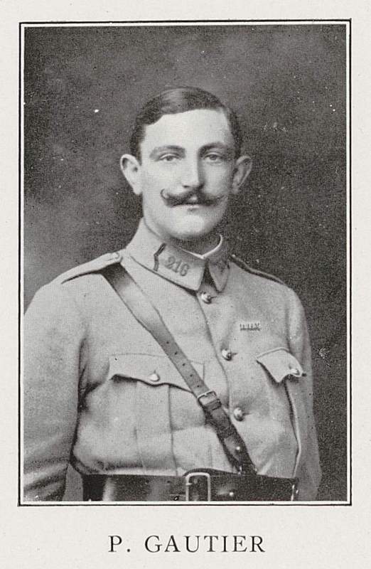Pierre Gautier (13 janvier 1884-12 juin 1917)