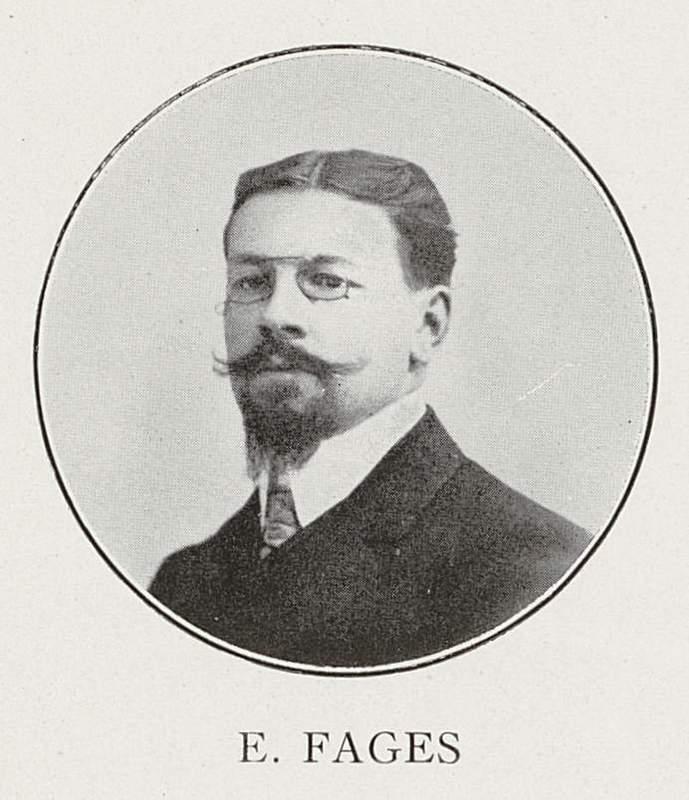 Étienne Fages (7 décembre 1880-27 décembre 1914)