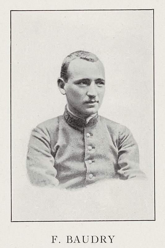 François Baudry (15 juin 1890-25 décembre 1914)