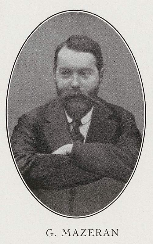 Georges Mazeran (26 avril 1881-27 novembre 1915)