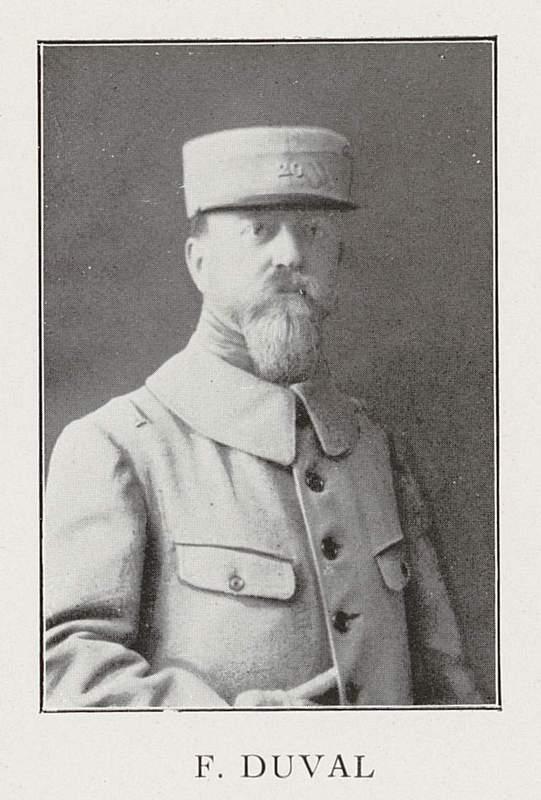 Frédéric Duval (25 août 1876-20 juillet 1916)