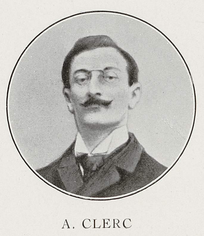 André Clerc (24 avril 1879-29 août 1914)