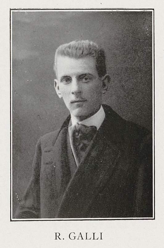 Robert Galichet ou Galli (27 décembre 1892-27 juillet 1915)