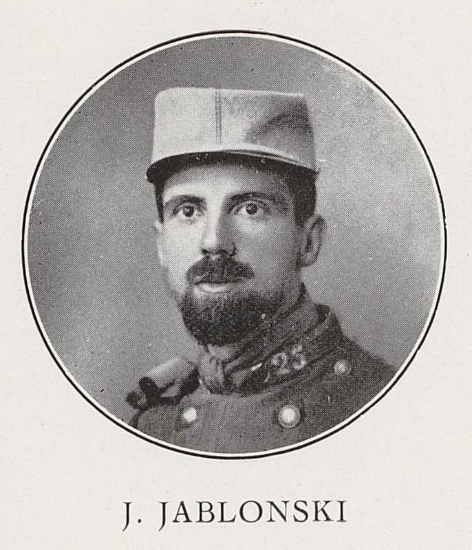 Jean Jablonski (18 septembre 1885-11 juin 1918)