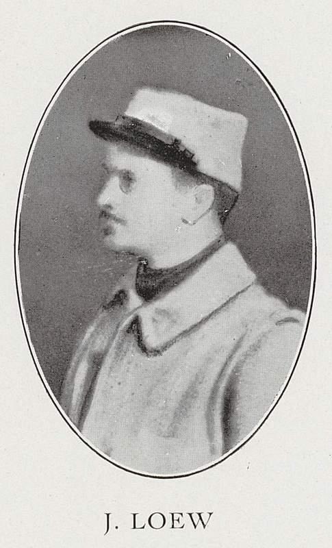 Jean Loew (14 novembre 1886-mai 1915)