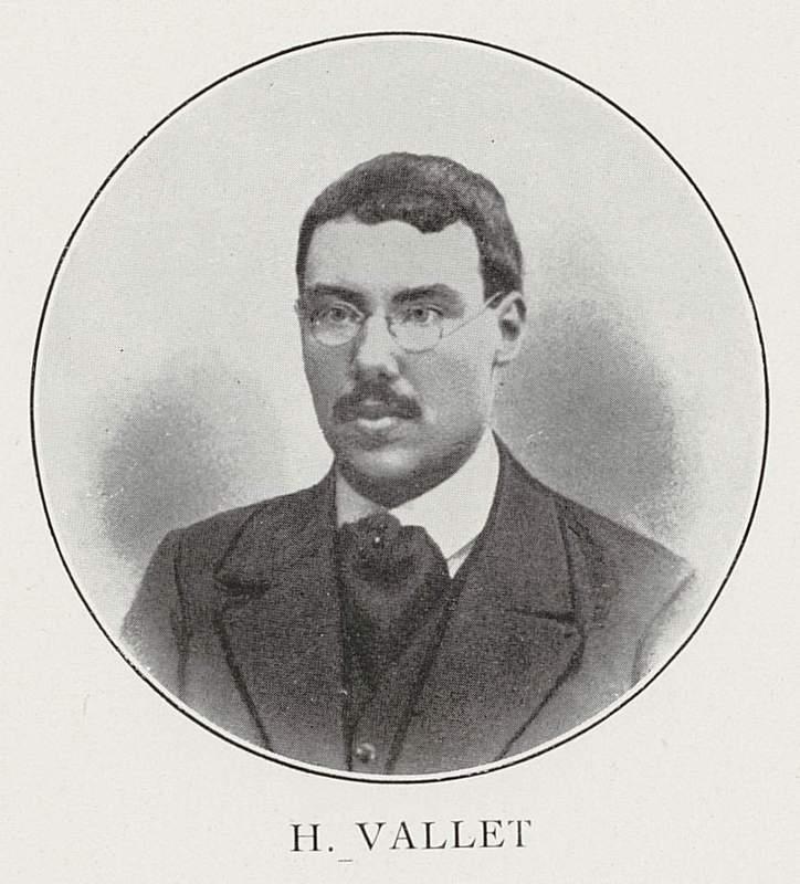 Henri Vallet (22 août 1889-4 octobre 1914)