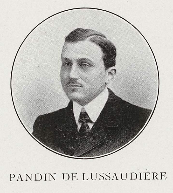 Jules Pandin de Lussaudière (29 juin 1880-11 juin 1915)