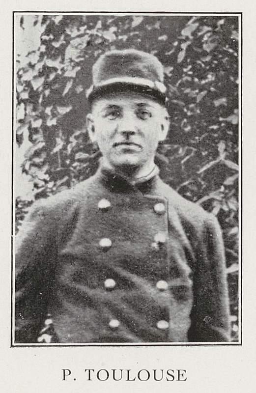 Pierre Toulouse (24 mai 1893-30 septembre 1915)