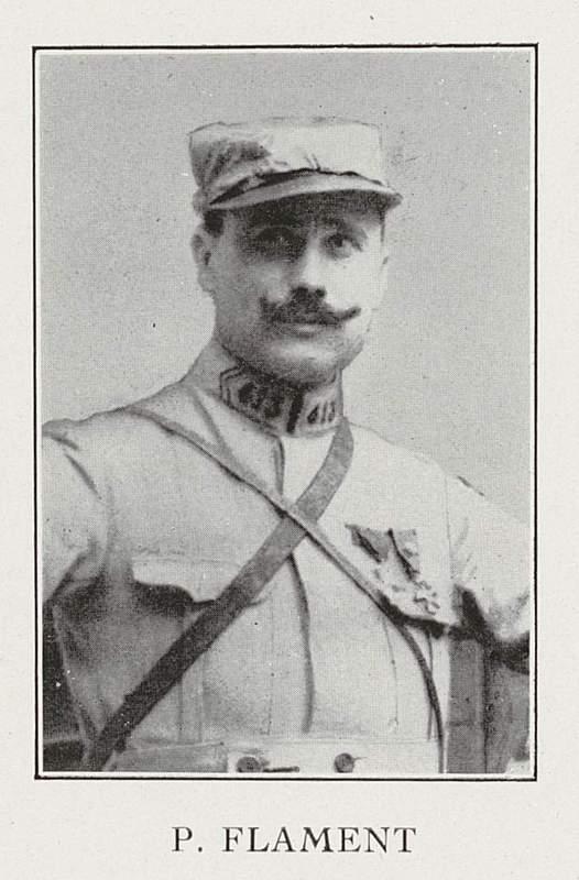 Pierre Flament (3 juin 1878-1er août 1916)