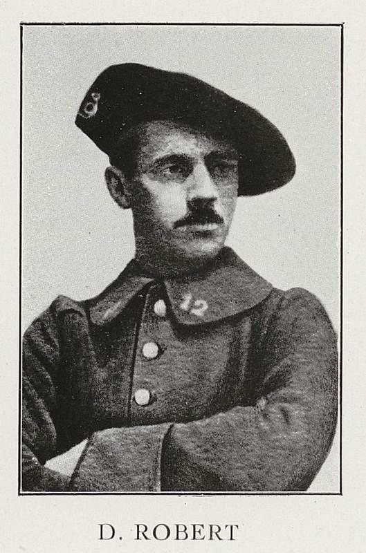 Daniel Robert (15 novembre 1890-7 juin 1915)