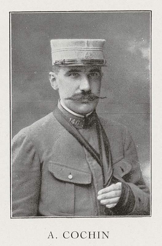 Augustin Cochin (22 décembre 1876-8 juillet 1916)