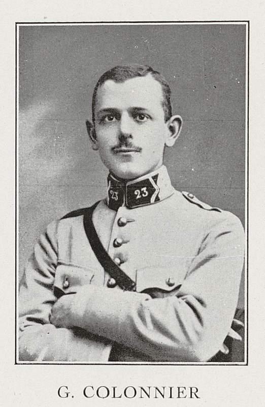 Gustave Colonnier (19 février 1898-18 juillet 1918)