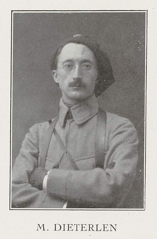 Maurice Dieterlen (30 août 1886-6 octobre 1915)