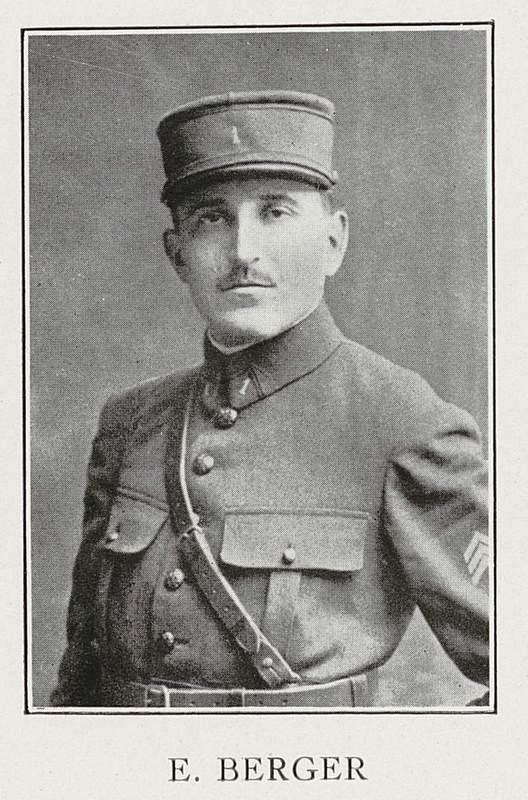 Eugène Berger (7 mars 1889-13 octobre 1917)