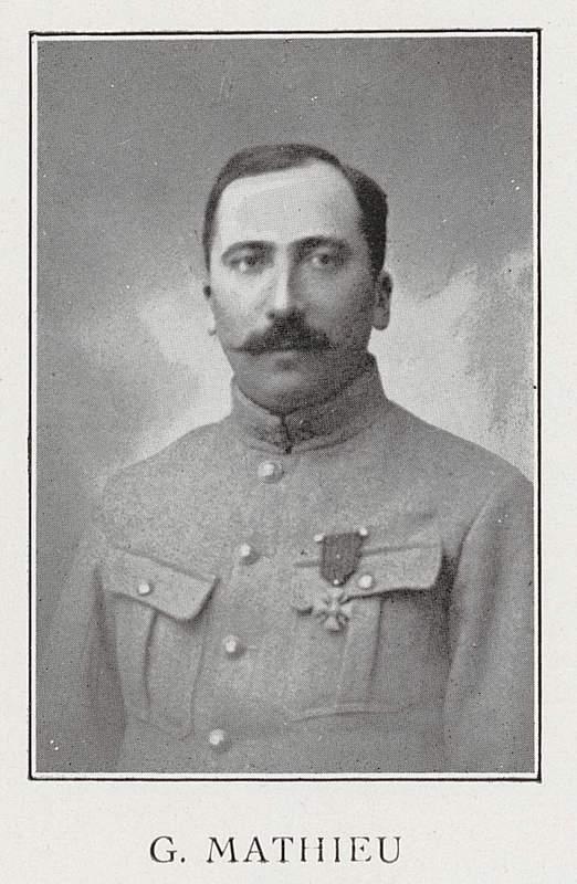 Georges Mathieu (10 décembre 1882-8 mai 1917)