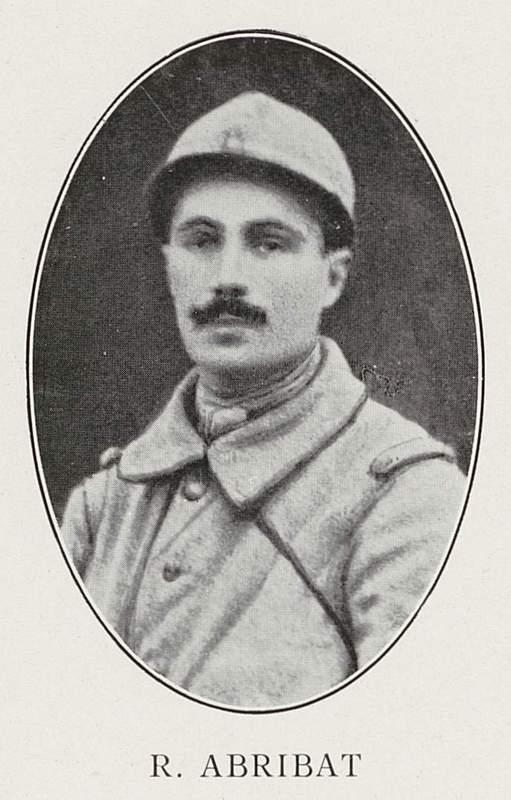 René Abribat (2 avril 1890-15 décembre 1916)