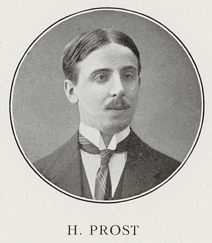 Henri Prost (8 octobre 1883-19 février 1915)