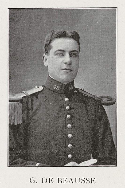 Gaston de Beausse (30 mai 1888-29 aoûl 1914)