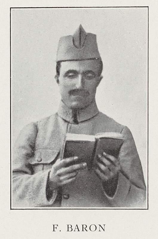 François Baron (22 septembre 1888-5 mai 1918)