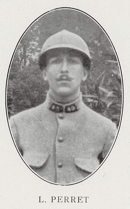 Louis Perret (8 février 1895-25 septembre 1916)